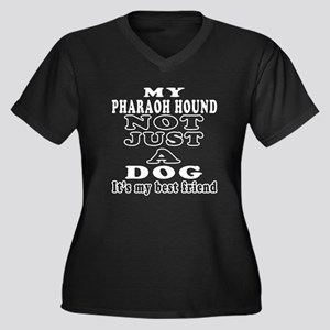 Pharaoh Hound not just a dog Women's Plus Size V-N
