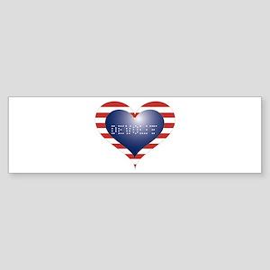 DEVOUT HEART Sticker (Bumper)