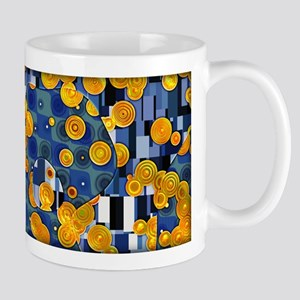 Klimtified! - Gold/Blue Mug