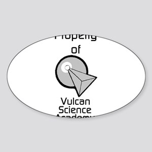 Property of Vulcan Science Academy Sticker (Oval)