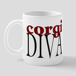 Corgi Diva Mug
