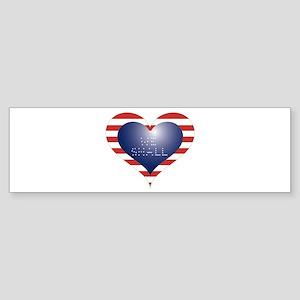 WE SHALL HEART Sticker (Bumper)