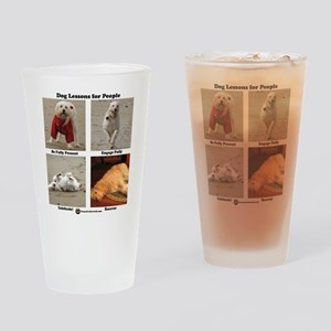 Dog Lessons for People Drinking Glass