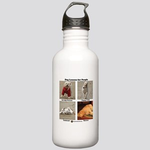Dog Lessons for People Stainless Water Bottle 1.0L