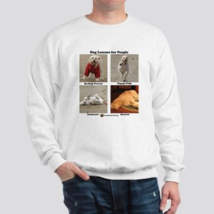 Dog Lessons for People Sweatshirt