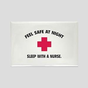 Feel safe at night - Sleep with a nurse Rectangle