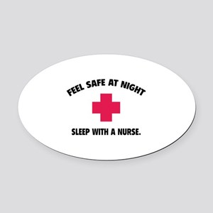 Feel safe at night - Sleep with a nurse Oval Car M