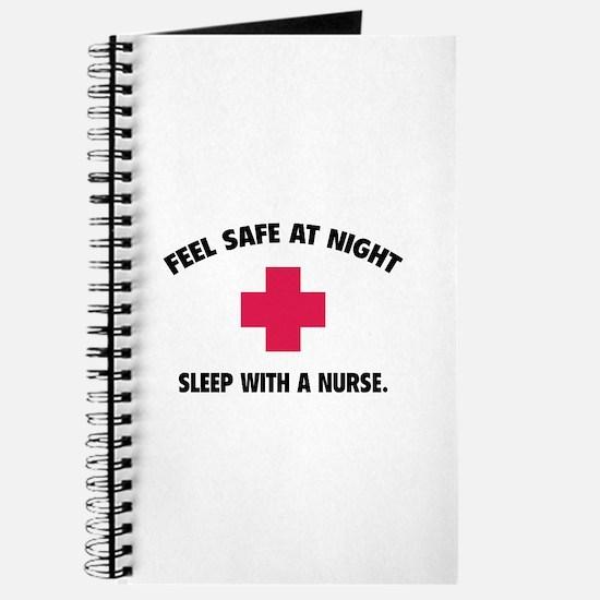Feel safe at night - Sleep with a nurse Journal
