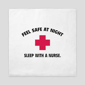Feel safe at night - Sleep with a nurse Queen Duve