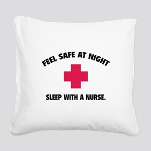 Feel safe at night - Sleep with a nurse Square Can