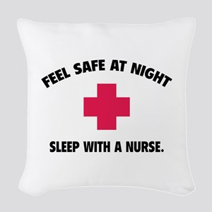 Feel safe at night - Sleep with a nurse Woven Thro