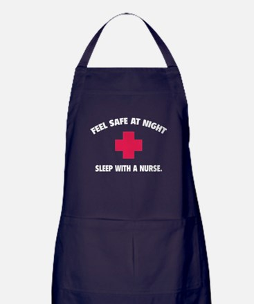 Feel safe at night - Sleep with a nurse Apron (dar