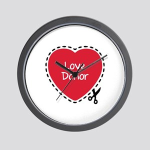 Be nice...Nurses call the shots. Wall Clock