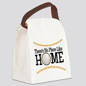 No Place Like Home BG Canvas Lunch Bag