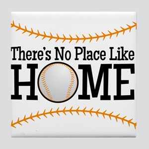 No Place Like Home BG Tile Coaster