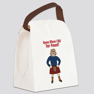 Sexy Scotsman Canvas Lunch Bag