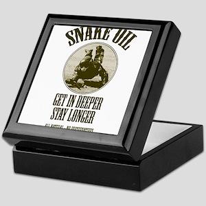 Snake Oil Keepsake Box