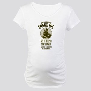 Snake Oil Maternity T-Shirt