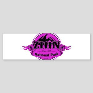 zion 4 Bumper Sticker
