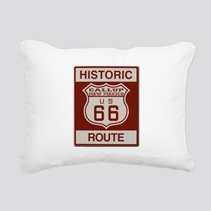 Gallup Historic Route 66 Rectangular Canvas Pillow