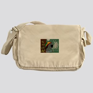 Rasta Alien - I Dig This Planet Messenger Bag
