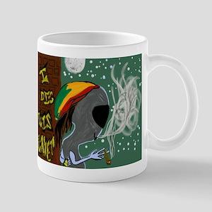 Rasta Alien - I Dig This Planet Mug
