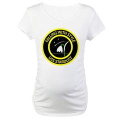 USS Stardust logo Maternity T-Shirt