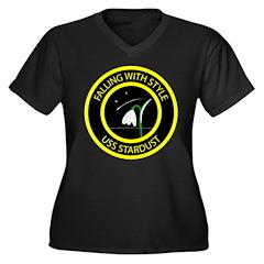 USS Stardust logo Plus Size T-Shirt