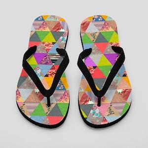 Flip Flops Lost In Triangles