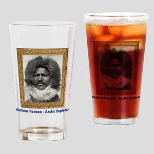 Matthew Henson - Arctic Adventurer Drinking Glass