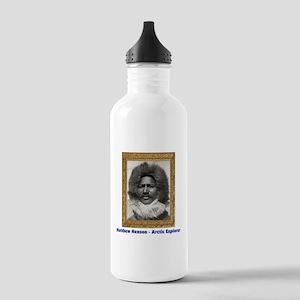 Matthew Henson - Arctic Adventurer Water Bottle
