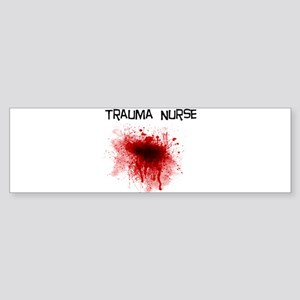 Trauma Nurse Bumper Sticker