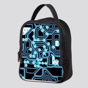 ElecTRON - Blue/Black Neoprene Lunch Bag