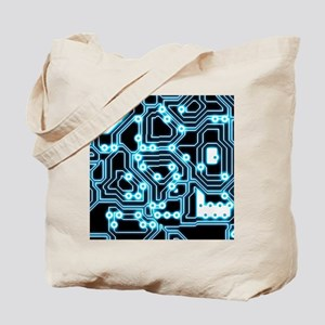 ElecTRON - Blue/Black Tote Bag
