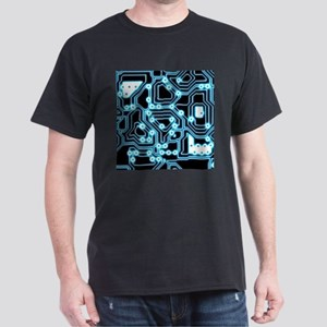 ElecTRON - Blue/Black Dark T-Shirt