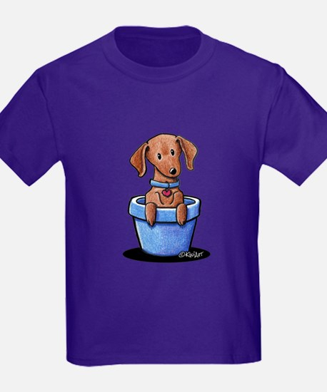 KiniArt Potted Doxie T