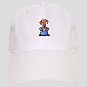 KiniArt Potted Doxie Cap