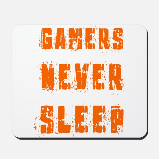 gamers never sleep Mousepad