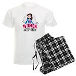 Women Auto Know Men's Light Pajamas