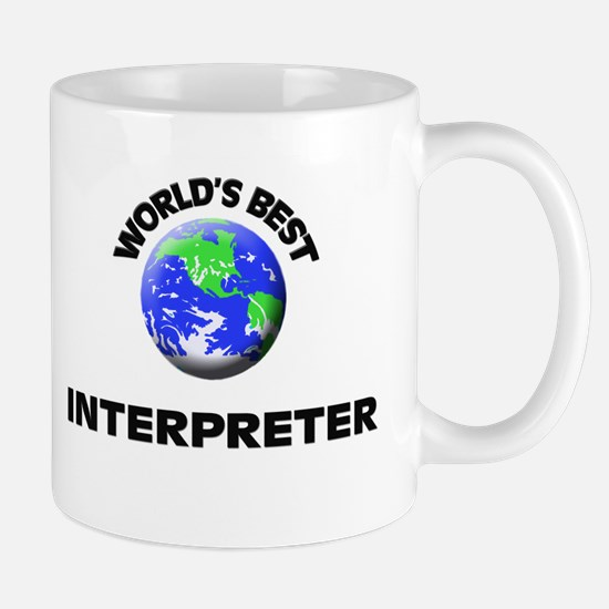 World's Best Interpreter Mug