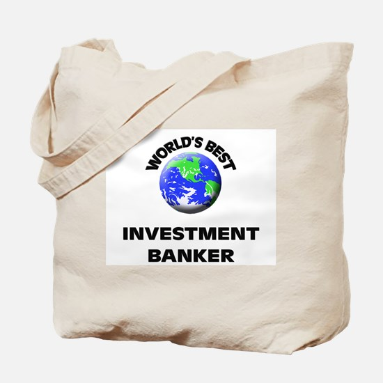 World's Best Investment Banker Tote Bag
