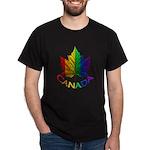 Canadian Gay Pride Dark T-Shirt