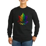 Canadian Gay Pride Long Sleeve Dark T-Shirt