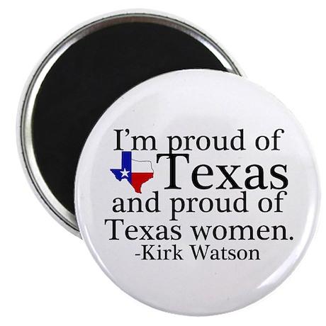 Texas Women Pride Magnet