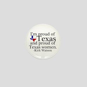 Texas Women Pride Mini Button