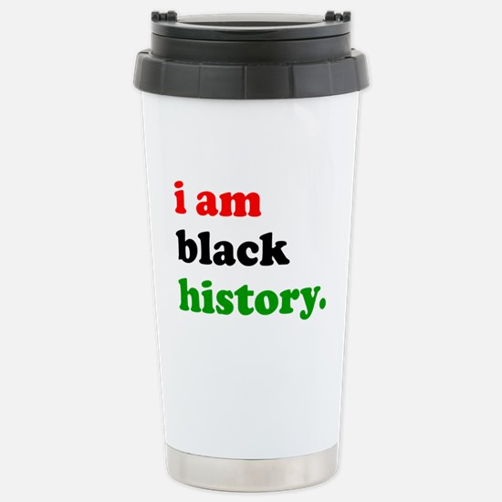 I Am Black History Travel Mug
