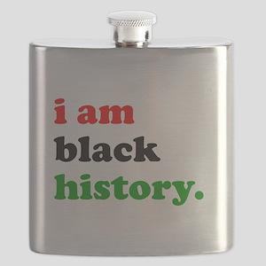 I Am Black History Flask