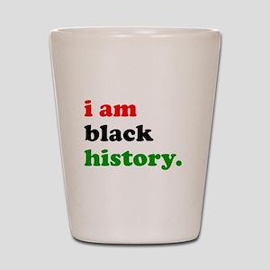 I Am Black History Shot Glass