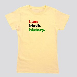 I Am Black History Girl's Tee
