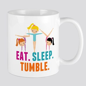 Eat Sleep Tumble 11 oz Ceramic Mug